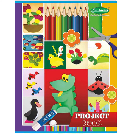 64 Pages Project Book (Rulled)