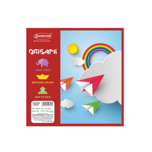 20 Sheets Origami Paper