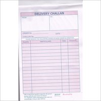 50 Sets Delivery Challan Book