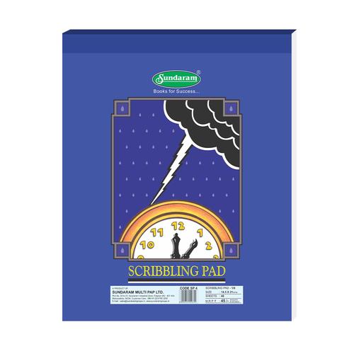 Sundaram Scribbling Pad 1/6 - 40 Sheets (SP-4)