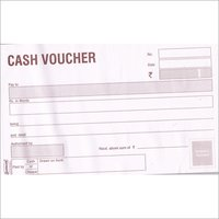 50 Sheets Cash Voucher Book
