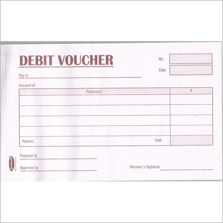 Sundaram Debit Voucher Book - 50 Sheets (VB-2)
