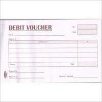 50 Sheets Debit Voucher Book