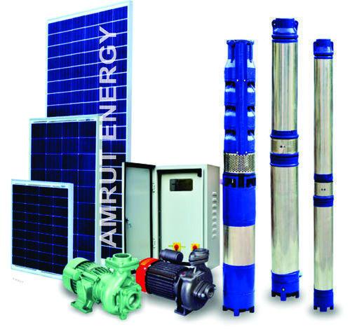 SS Centrifugal AC Solar Pumps