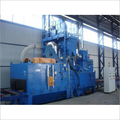Auto Wheel Blasting Machine