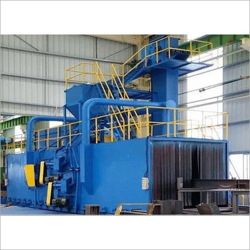 Tunnel Type 8 Wheel Shot Blasting Machine