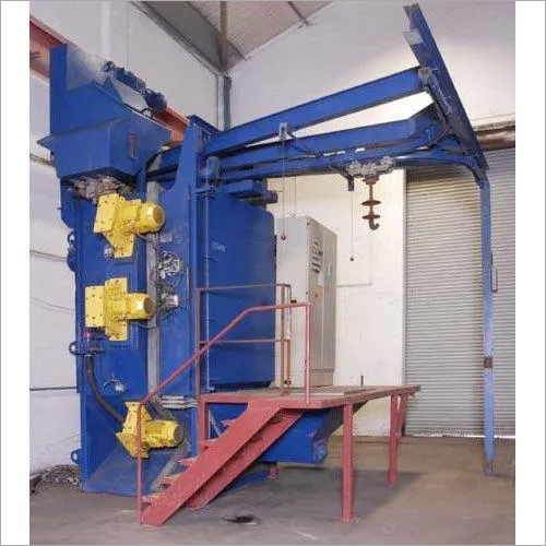 T Hanger Type Shot Blasting Machine