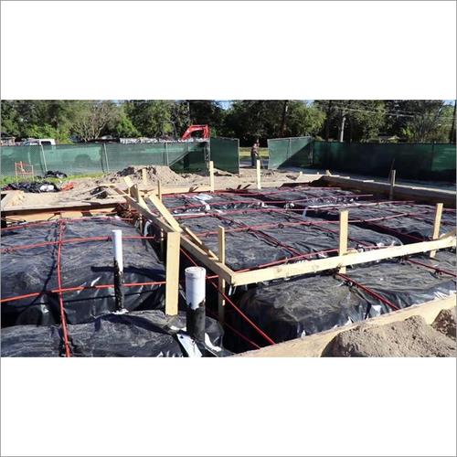Installing Plastic Vapor Barrier Before Pouring Concrete Slab