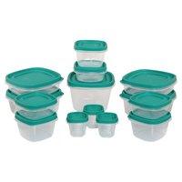 14 Pcs Plastic Storage Container Set