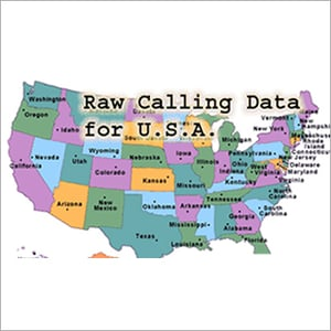 US Raw Calling Data Services