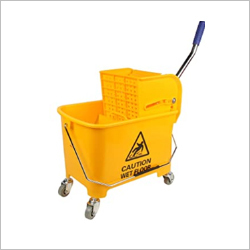Single Buckete Wringer Trolley