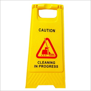 Caution Sign Board