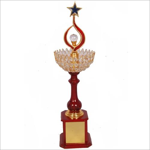 Brass Golden Trophy