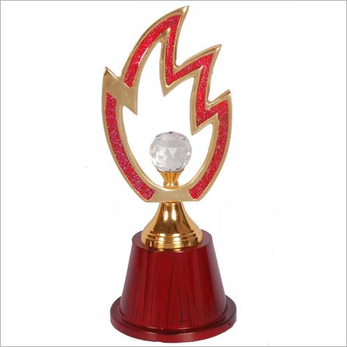 Brass Acrylic Fancy Trophy