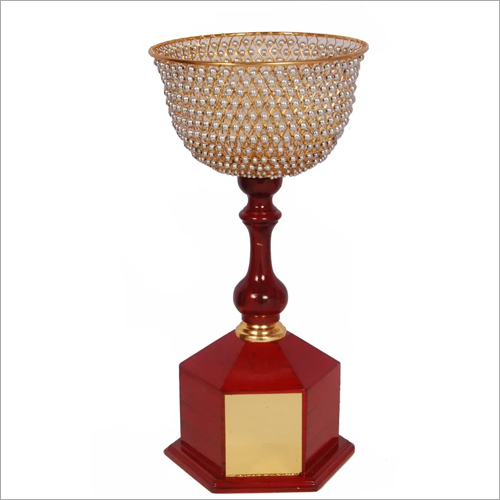 Metal Crystal Trophy