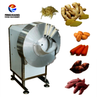 FC-501 Potato Chips cutter Ginger Bamboo Slicer Machine