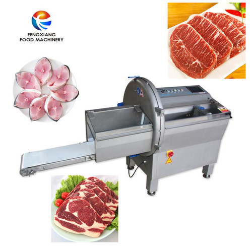 Automatic Row meat slicing machine Ham Fish Cutting  machine