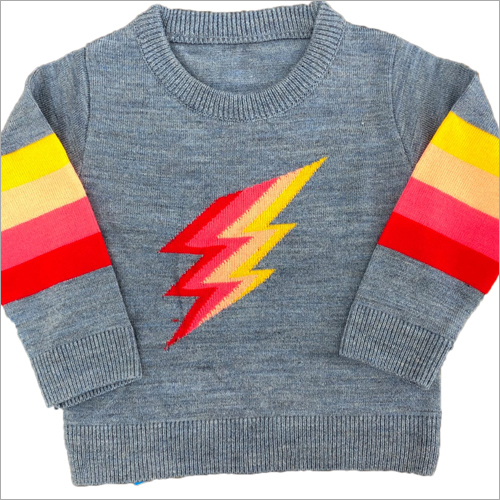 Kids O Neck Sweater