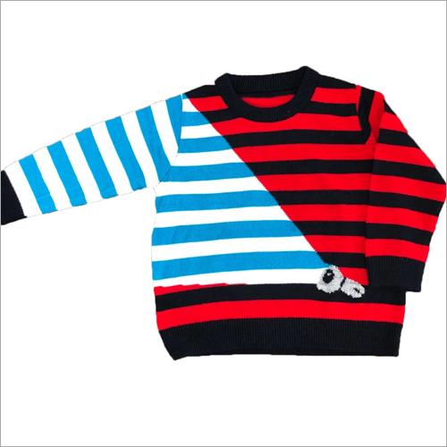 Kida Roud Neck Fancy Sweater