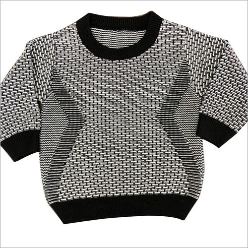 Kids Round Neck Designer Sweater