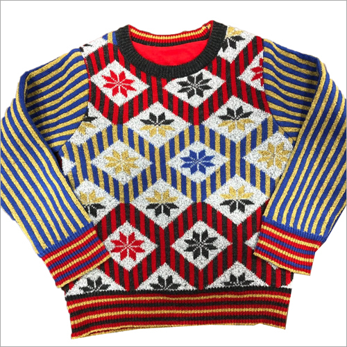 Kids Woolen Fancy Sweater