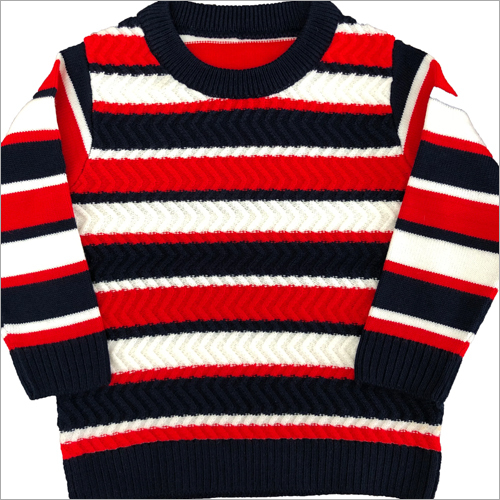 Boys Striped Sweaters
