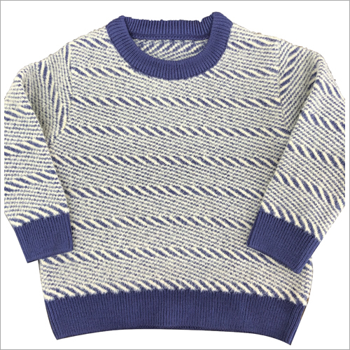 Boys Round Neck Sweater