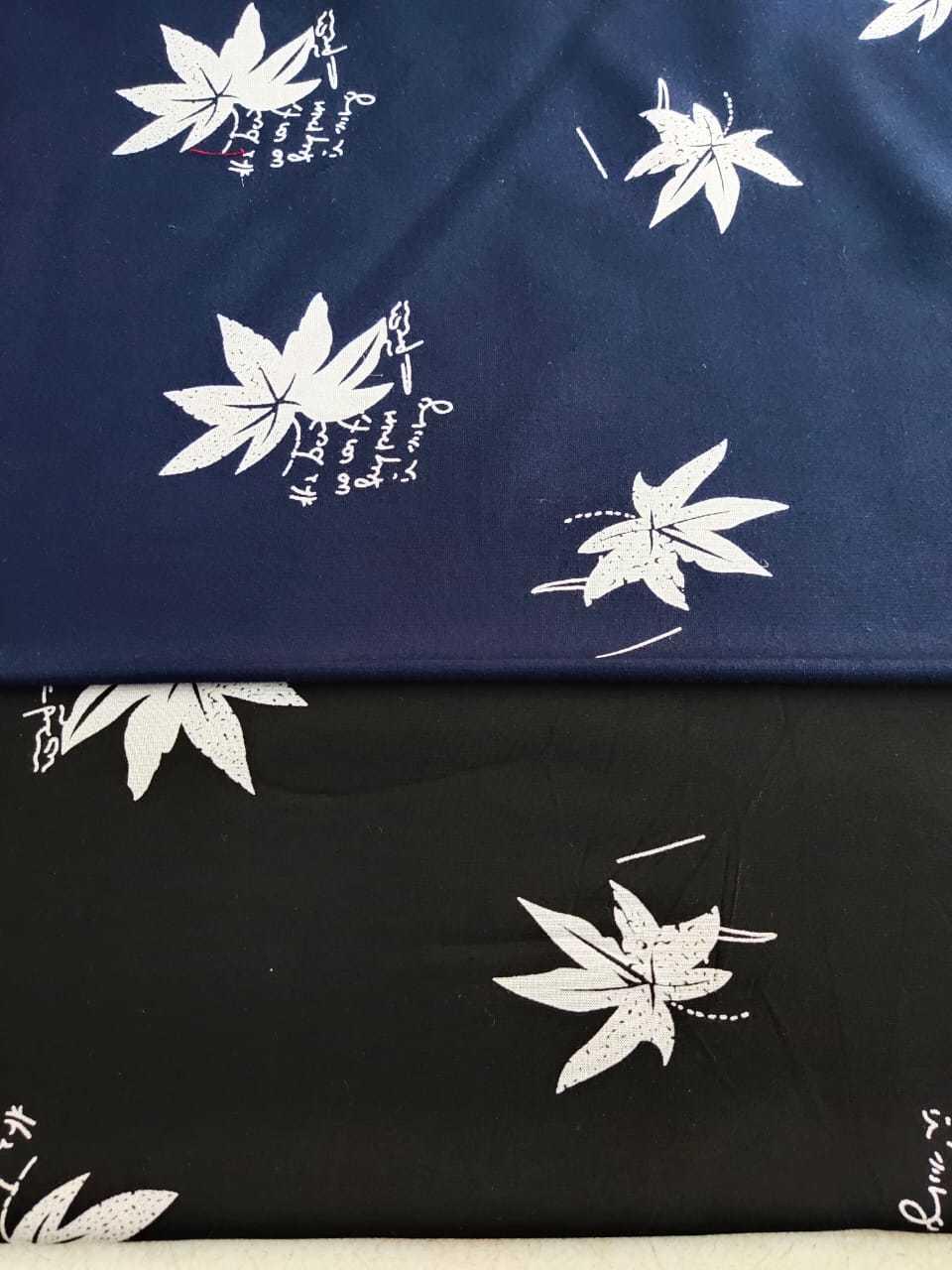 Printed Rayon Fabrics