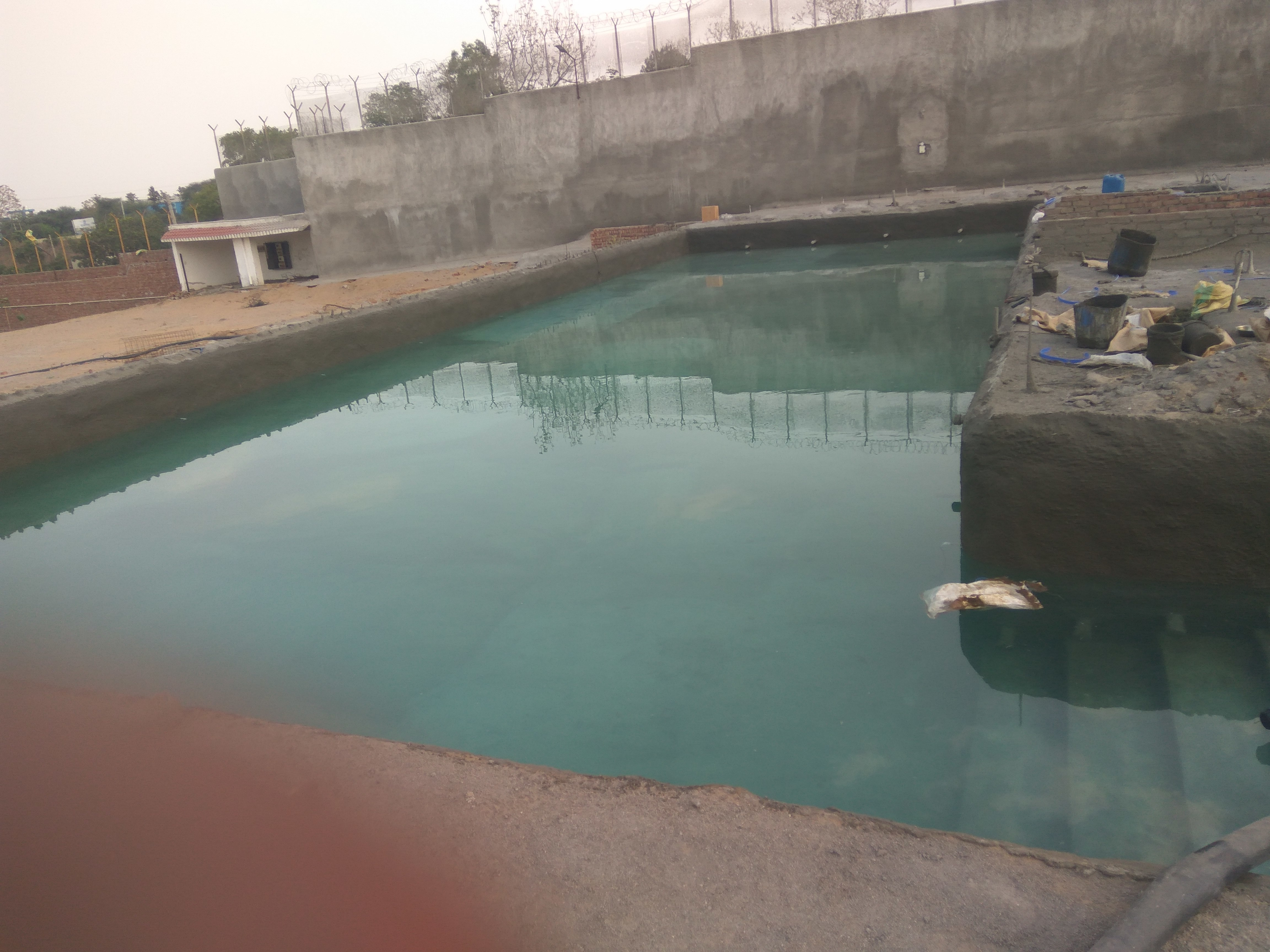 swimming pool water proofing