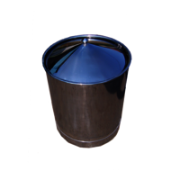 Stainless Steel Tilting Dustbin