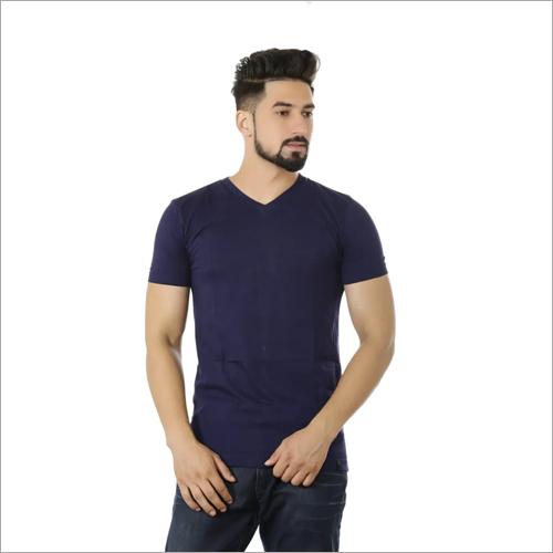 Mens Slim Fit V Neck T-Shirt