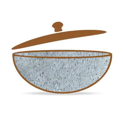 IR 64 Raw White Rice