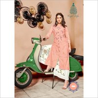Fancy Printed  Kurti with Plazo