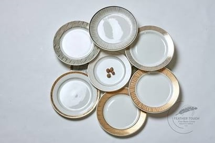 Gold Dinner Set Design Refrence
