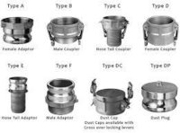 Different Types Of Camlock Coupling