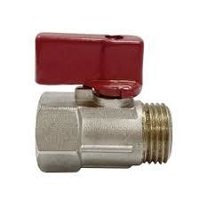 Brass Mxf Mini Ball Valve