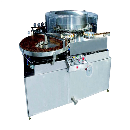 High Speed Automatic Rotary Ampoule And Vial Washing Machine