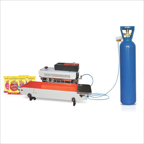 Continuous Band Sealer Machine With Nitrogen Gas Filling