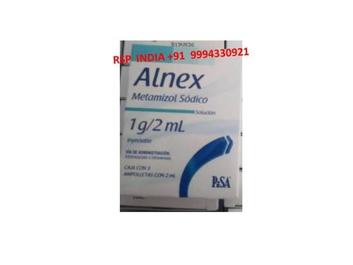 Alnex Metamizol Sodico 1g-2ml Solution