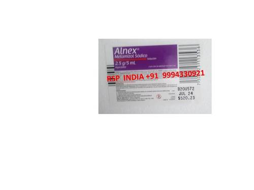 Alnex Metamizol Sodico 2.5g-5ml Solution