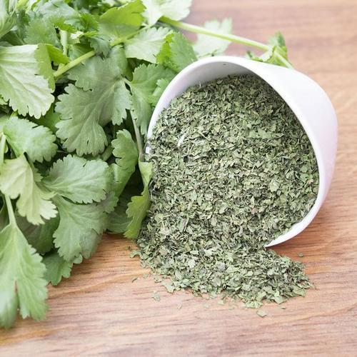 Dehydrated Coriander Leaves