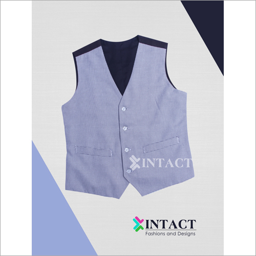 Mens Design Vest Coat