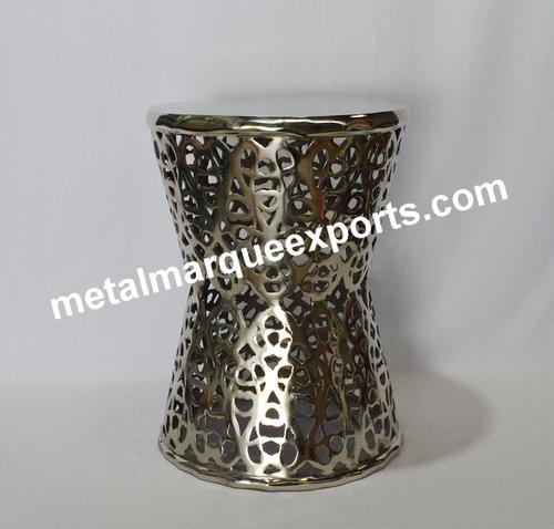 Aluminum Shining Polish Stool