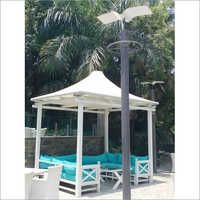 Kiosk Tension Fabric Structure