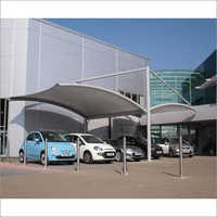 Pvc Tensile Car Parking Structure
