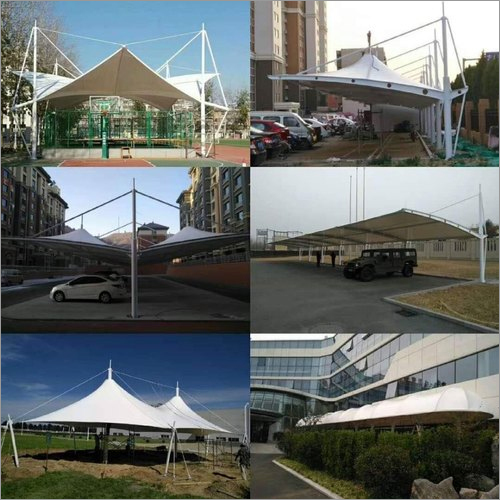 Covered Walkway Fabric Canopy