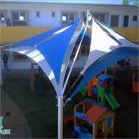 Conical Entrance Tensile Shed