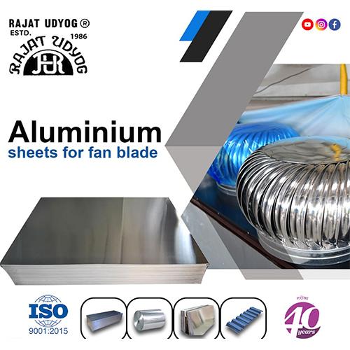 Aluminum Fan Blade Sheet