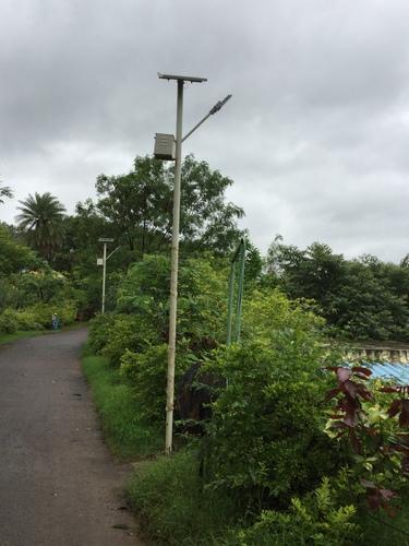 30W Solar Street Lamp