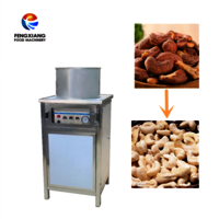 Automatc Crashew Nut Peeling Machine Nut Shell Machine